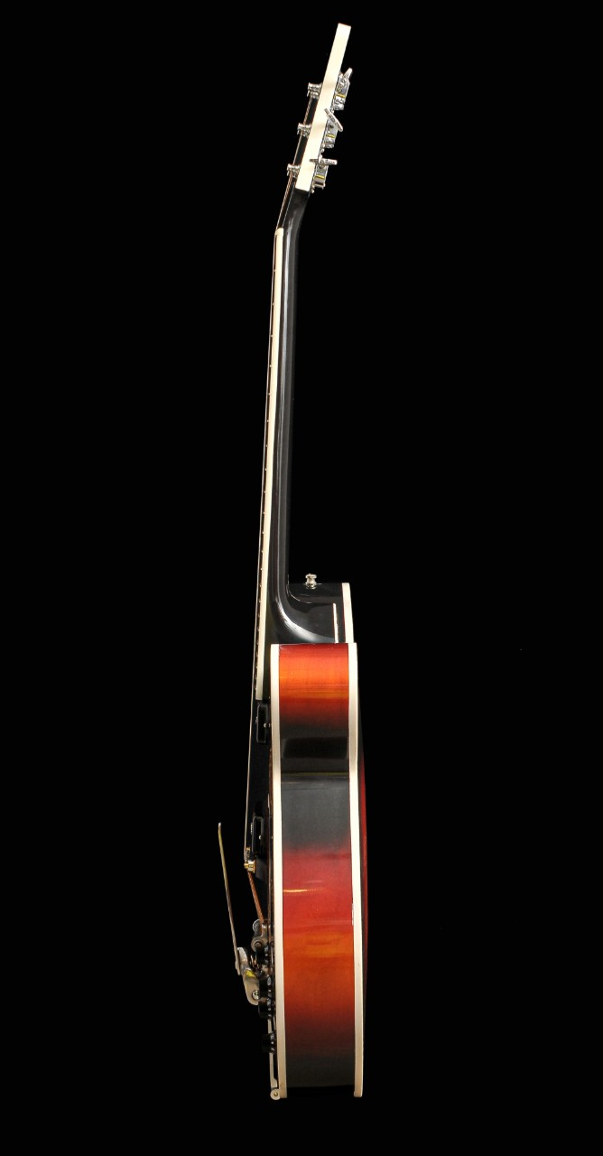 Modern laminated 2007 jazz-guitar Wout Bosma Dordrecht De Luthiers