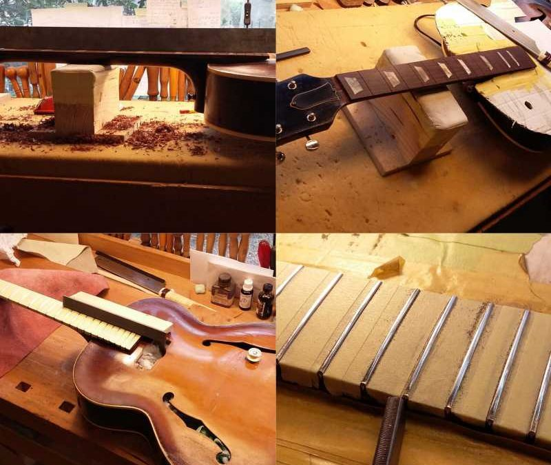 Restoration Gibson ES150 1947