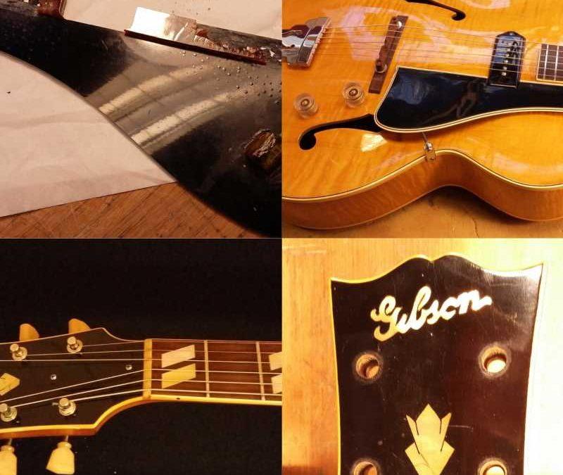 Restauratie Gibson ES300 1947
