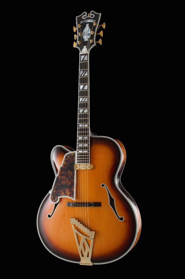 Lefthanded D'Angelico Wout Bosma guitars De Luthiers Dordrecht
