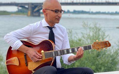 Gitarist Maurice Rugebregt