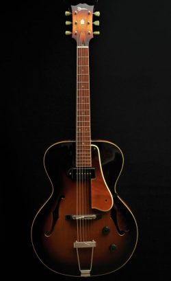 Laminated birdseye maple 16 inch Wout Bosma Jazz-Guitar Dordrecht